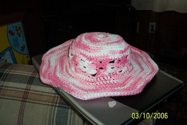 Pearl Encrusted Hat Pattern - Free Crochet Pattern