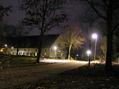 Voltmannshof at night