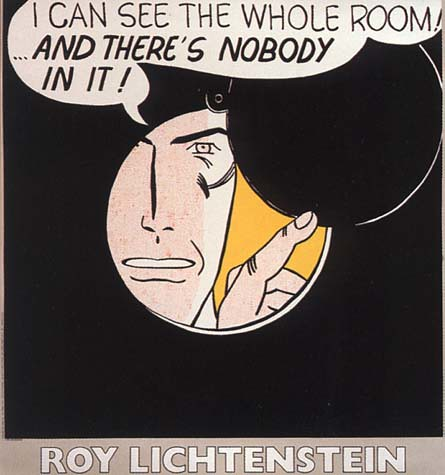 Roy Lichtenstein - I Can See the Whole Room