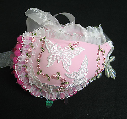 pink bra purse