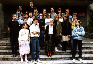 My high school class, 1991-1992.