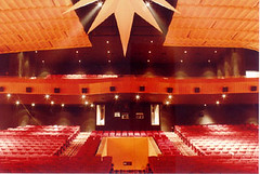 movie theater, function hall, music venue, theatre, auditorium, convention center, opera house,