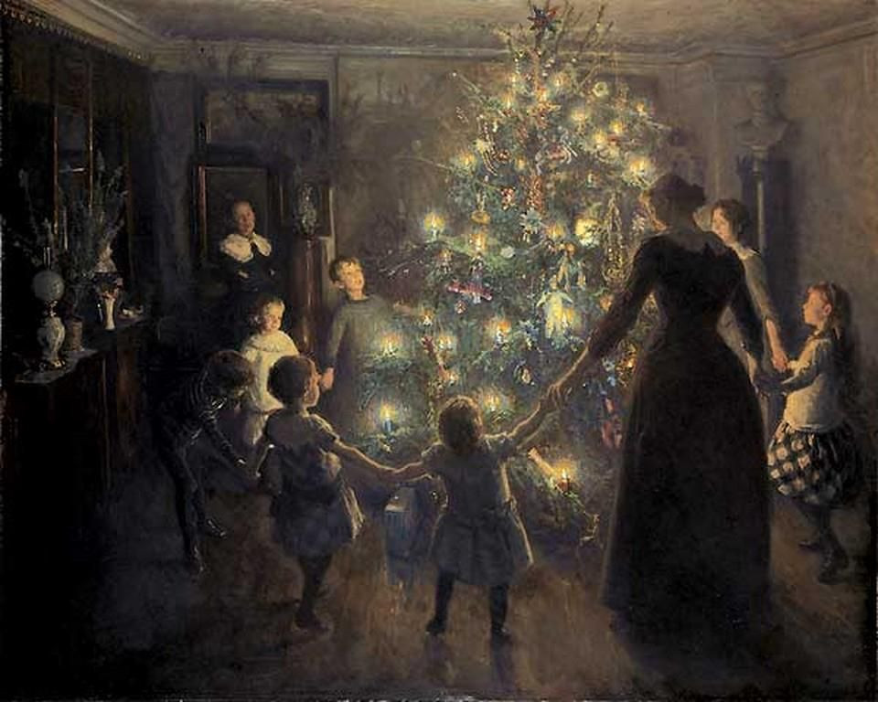 Happy Christmas by Viggo Johansen