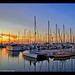 J Street Marina at Sunset, Chula Vista, California