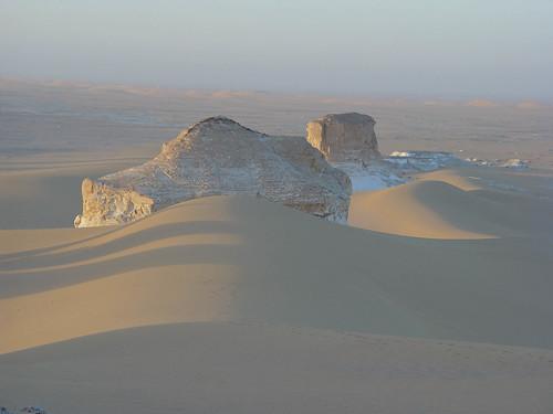 White Desert morning
