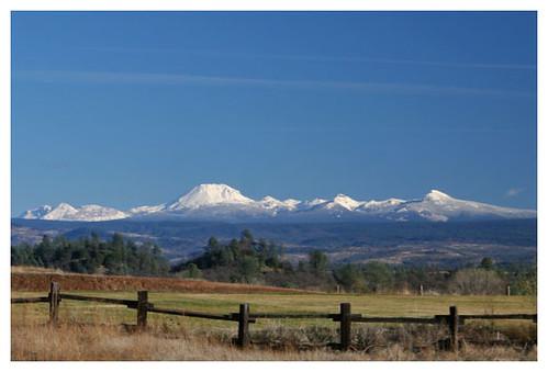 7shots mtlassen lassen mountains landscape fence field