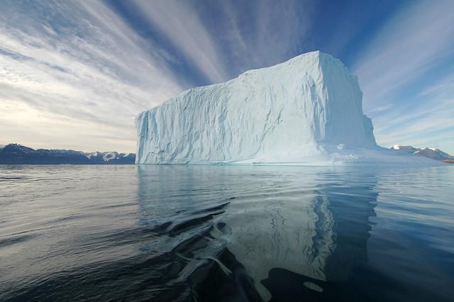 Iceberg en Fohn Fjord, Groenlandia.