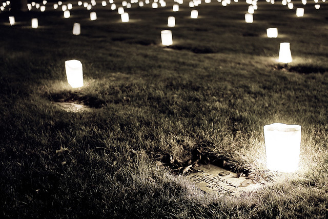 Christmas At The Cementery