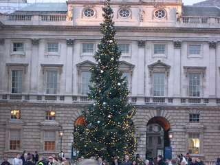 Christmas Tree Somerset House London
