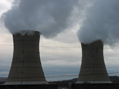 cloud, wind, cooling tower, electricity, power station, nuclear power plant,