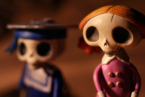 Skeleton Girl & Boy