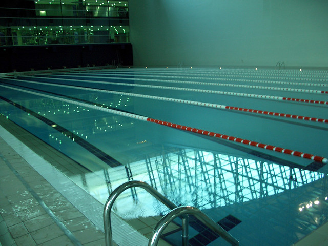 Aspire Qatar Swimming Aspire stadium pool | ...