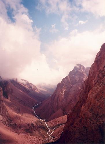 Cajon de Arenales, Mendoza