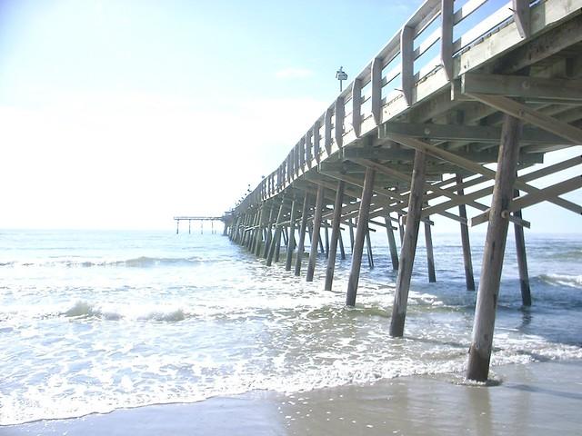 Atlantic beach nc fishing pier flickr photo sharing for Nc fishing piers