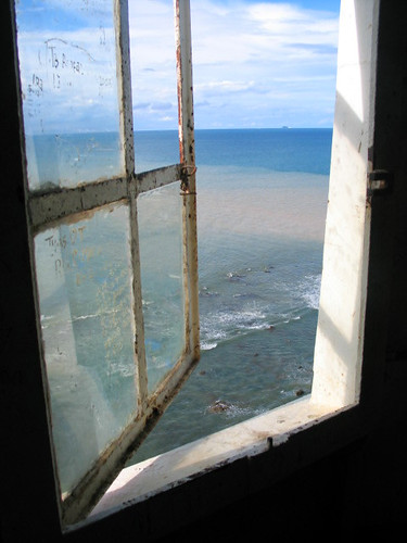 window and the sea