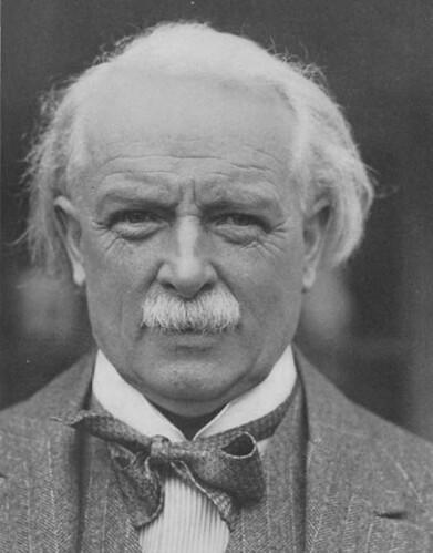david lloyd george David lloyd george, who led britain in the first world war with a presidential approach.