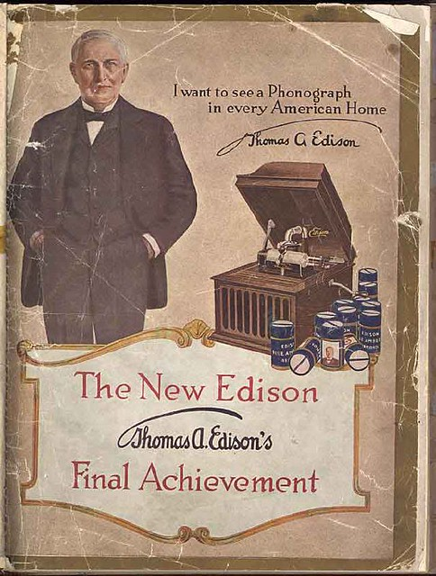 Revolutionary Technology (according to Thomas Edison) from Flickr via Wylio
