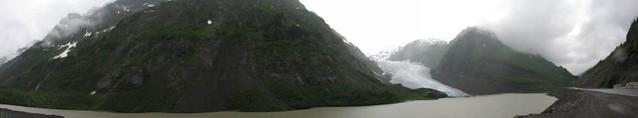 Bear Glacier Panorama / near Stewart, British Columbia, Canada