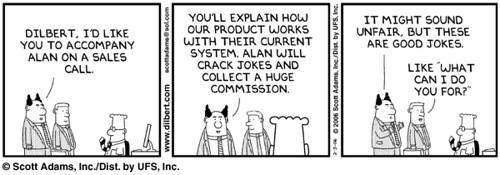 Corporate attitude to Sales vs Contribution
