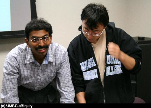 Shashi and Yang Yu | UMBC Ebiquity research group | Flickr