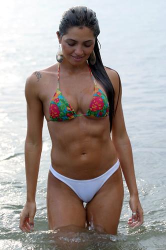 Hot latina women in bikinis