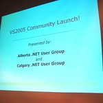 Visual Studio 2005 Community Launch