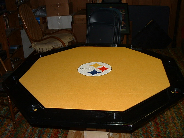 Steelers >> Steeler Poker Table | Flickr - Photo Sharing!