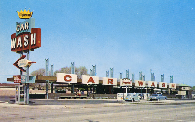 Imperial Car Wash Inglewood California A Photo On