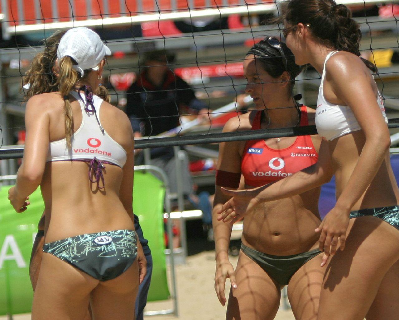 Эротические фото женского пляжного волейбола 22 фотография