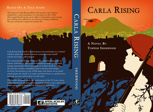 CARLA RISING | BOOK COVER DESIGN