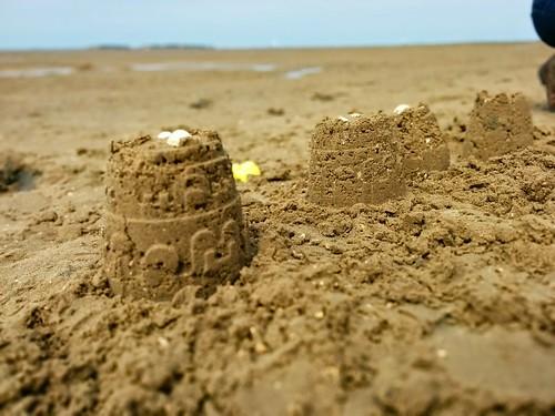 Sandcastles, West Kirby Beach