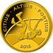 Rio 2016 guldmønt - Altius