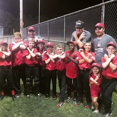 I'm so happy to report that the little #Buccaneers took it home!!! (7-6) #SoProud Teamwork makes the dream work ;-) #LOVESB