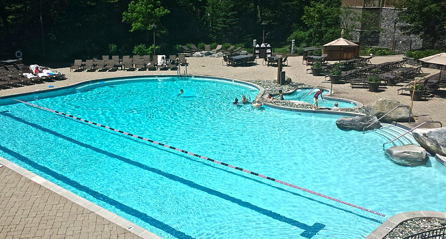 pool time - stowe mountain lodge vermont