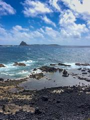 rocky beach Fernando de Noronha Island - Strand