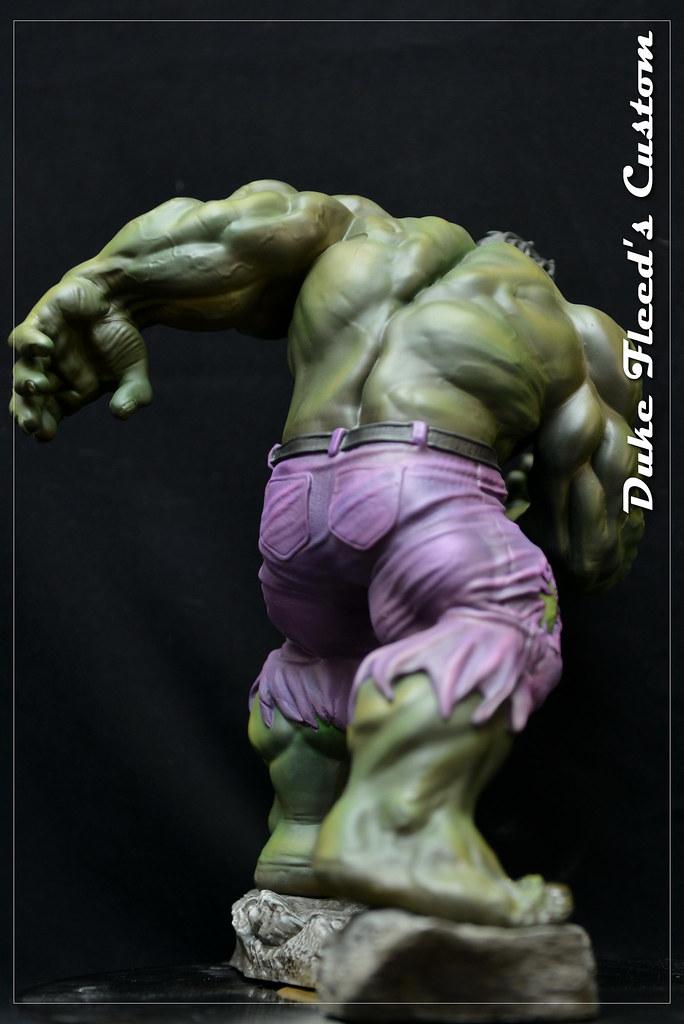 Hulk Kotobukiya repeint  19146031288_6049de3172_b