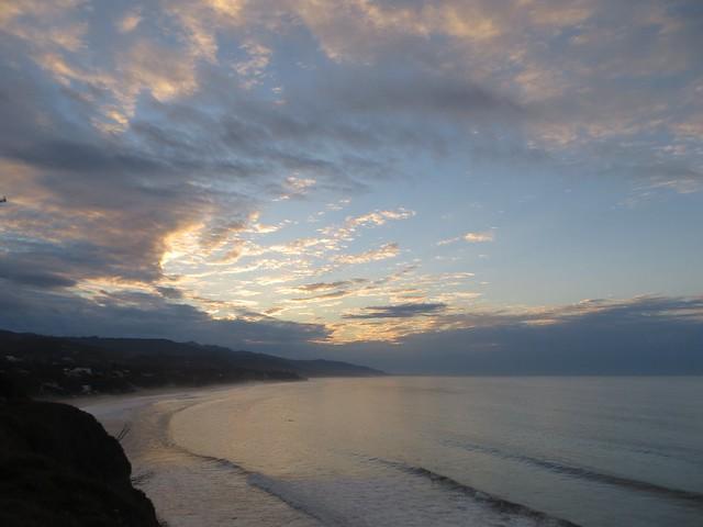monday morning cyclone sunrise