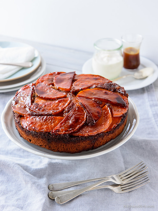 Caramel Pumpkin Upside-down Cake