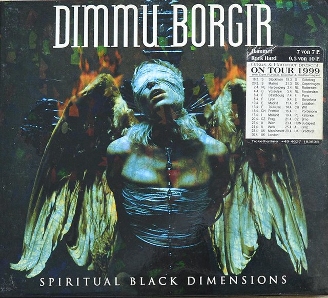 DIMMU BORGIR SPIRITUAL BLACK DIMENSIONS (CD)