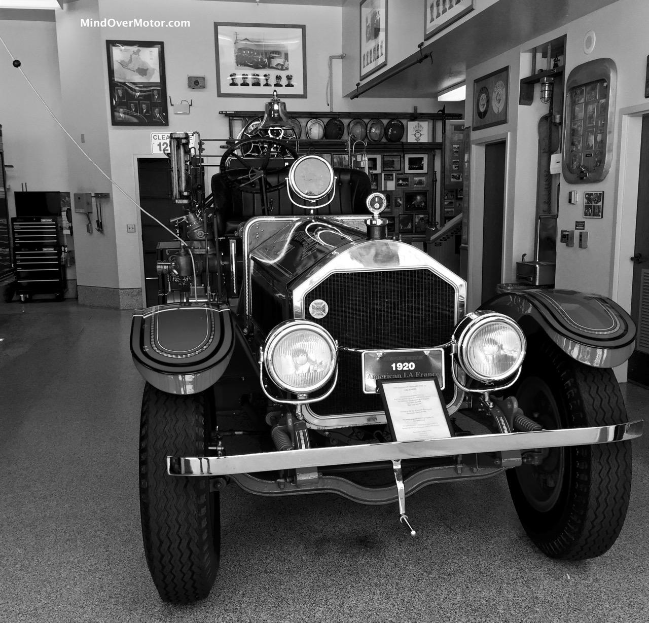 1920 American LaFrance Front