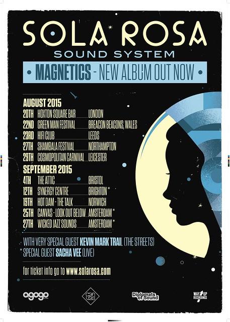 SolaRosa Sound System - Magnetics EU Tour 2015