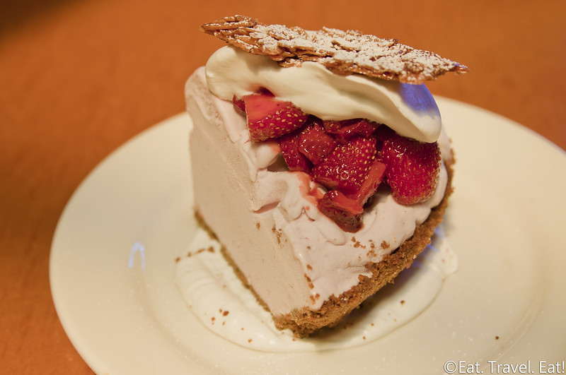 Pizzeria Mozza- Los Angeles, CA: Strawberry Gelato Pie