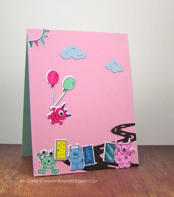 Sadie's Monster Card