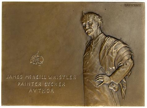Brenner Whistler medal obverse