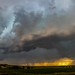 071715 - Mid July Nebraska Thunderstorms (Pano)