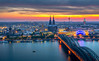 Sunset over Cologne by .Markus Landsmann - markuslandsmann.zenfolio.com