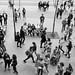 Tourist, pedestrians and humans