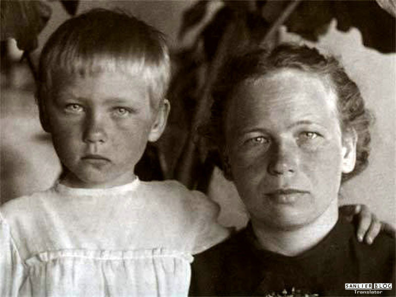 苏联名人家庭照片07