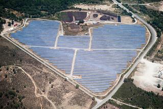 Heart shaped solar panels