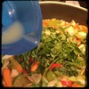 #Homemade Thai-Influenced Chicken & Veggies #CucinaDelloZio - fresh basil + lime juice